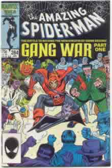 Amazing Spiderman #284 - GANG WAR