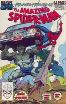 Amazing Spiderman Annual 23
