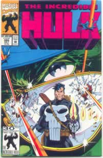 Incredible Hulk #395 with the Punisher