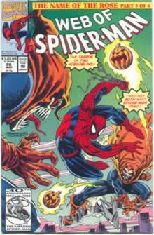 Web of Spiderman 86